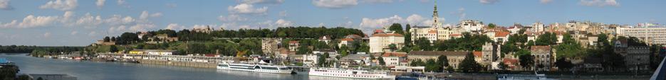 panorama grada beograda