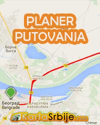 Planer putovanja Srbije